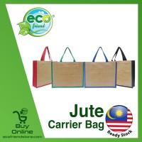 Jute Carrier Bag (B0075)