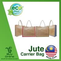 Jute Carrier Bag (B0077)