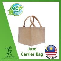 Jute Colourful Mini Carrier Bag (B0229)