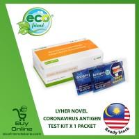[ LOCAL READY STOCK ]  LYHER Novel Coronavirus Antigen Test Kit (Accuracy 95%)  [ LW0153 ] Ecofriend